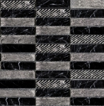 Greek Negro Marquina мозаика 269x269